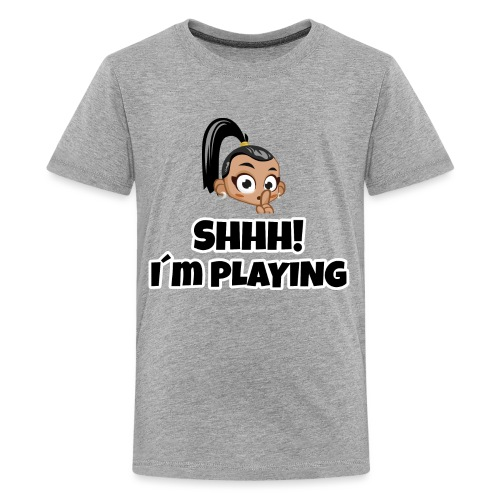 Shhh I'm Playing! Layla trivisk - Teenage Premium T-Shirt
