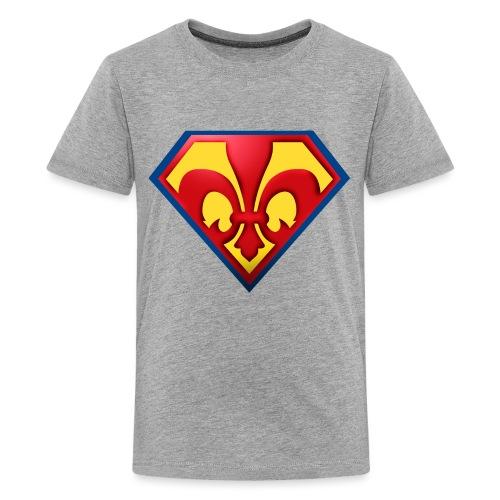 Fabulous Scout - Lilie im Wappen - Teenager Premium T-Shirt