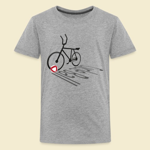 Radball | Cycleball Shadow - Teenager Premium T-Shirt