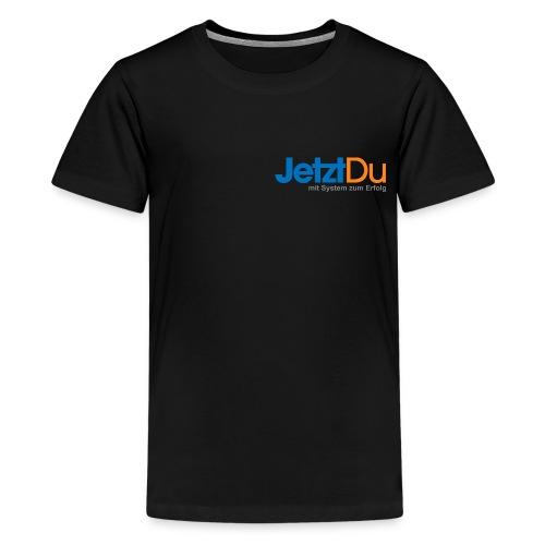 JetztDuLogo ArtWork1 - Teenager Premium T-Shirt