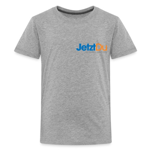 JetztDuLogo ArtWork1 - Teenager Premium T-Shirt