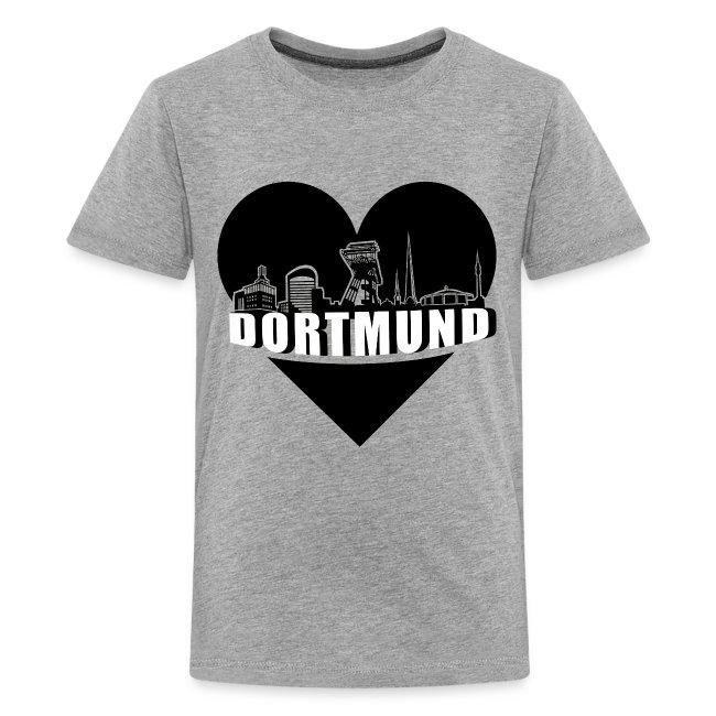 Dortmund Skyline in Love