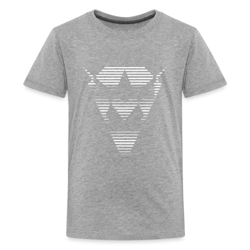 Blanc losange - T-shirt Premium Ado