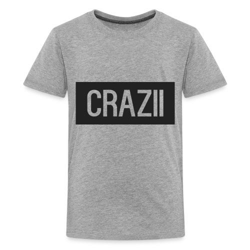 Crazii Shirt Logo png - Teenage Premium T-Shirt