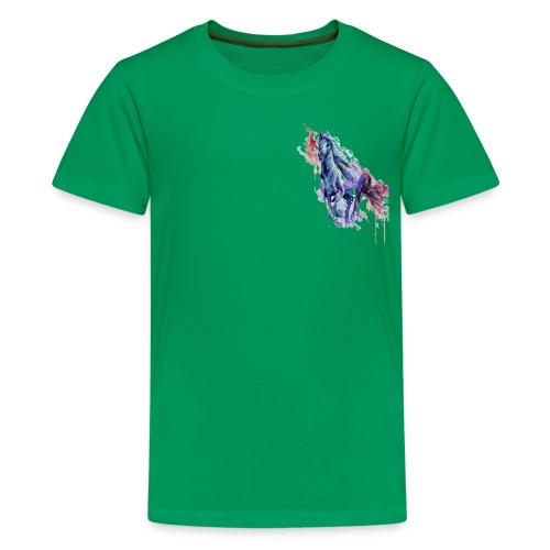 Cute horse shirt - Teenager premium T-shirt