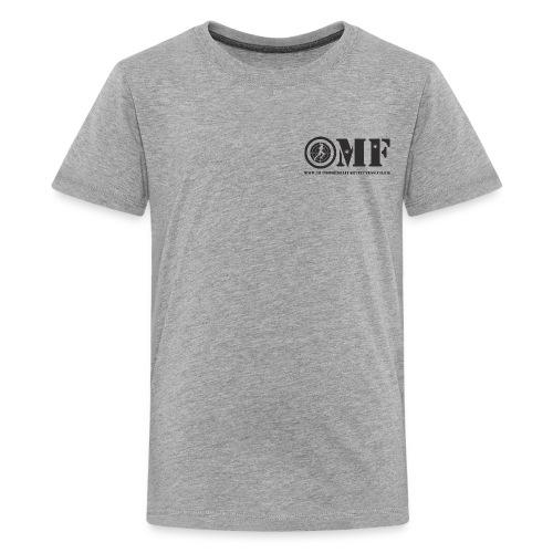 OMF black logo - Teenage Premium T-Shirt