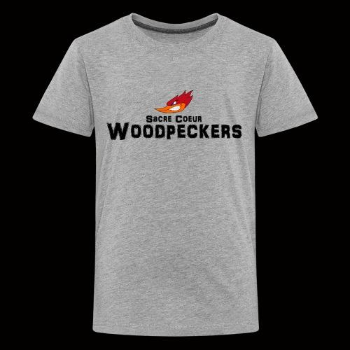 scwoodpeckerslogosmall - Teenager Premium T-Shirt