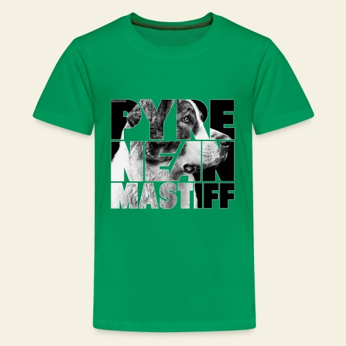 Pyrenean Mastiff II - Teinien premium t-paita