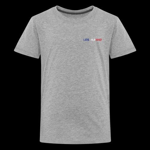 LES HUMANS - Premium T-skjorte for tenåringer
