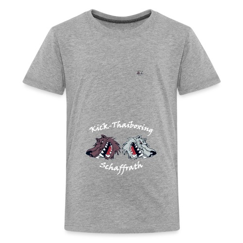 Logo-Kinder - Teenager Premium T-Shirt