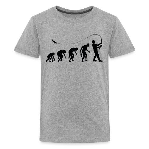 Evolution of fischers - Teenager Premium T-Shirt