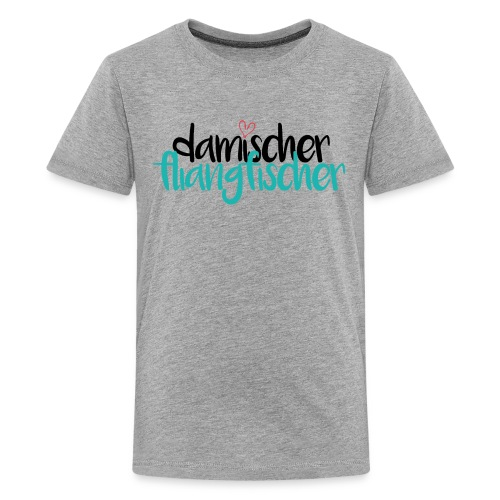 Damischer Doagfischer - Teenager Premium T-Shirt
