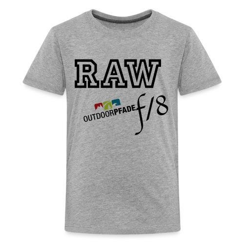 ODP 2015 12 10 logo FIN png - Teenager Premium T-Shirt