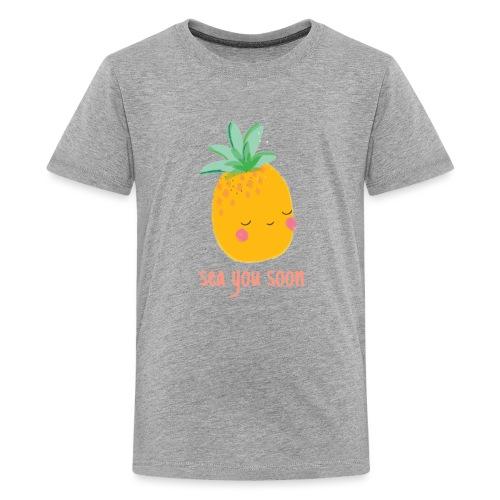 Sea you soon - Teenage Premium T-Shirt