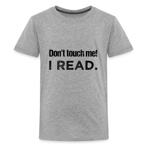 0077 readers | Book lovers | Bookrebels | Naughty - Teenage Premium T-Shirt