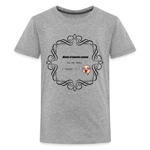 Motus et bouche cousue - T-shirt Premium Ado