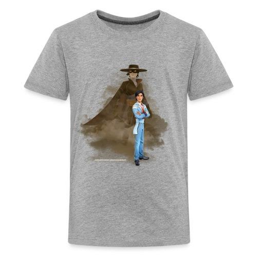 Zorro The Chronicles Don Diego Doppelleben - Teenager Premium T-Shirt