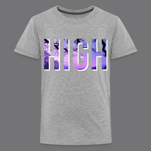 HIGH tee shirts - Teenage Premium T-Shirt