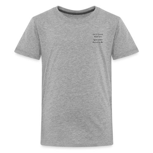 TOUS LES HOMMES NAISSENT EGAUX MAIS LES MEILLEURS - T-shirt Premium Ado