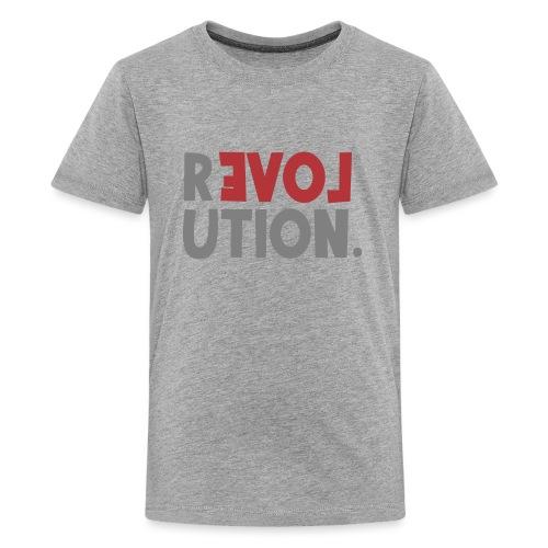 Revolution Love Sprüche Statement be different - Teenager Premium T-Shirt
