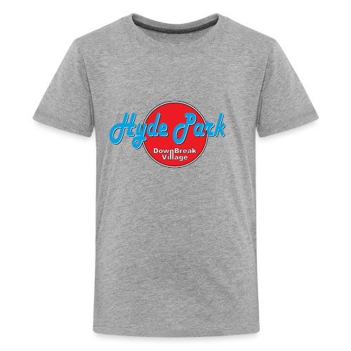 HydePark RedBlue - Teenager Premium T-Shirt