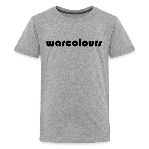 warcolours logo - Teenage Premium T-Shirt