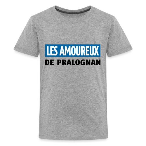 les amoureux de pralognan texte - T-shirt Premium Ado