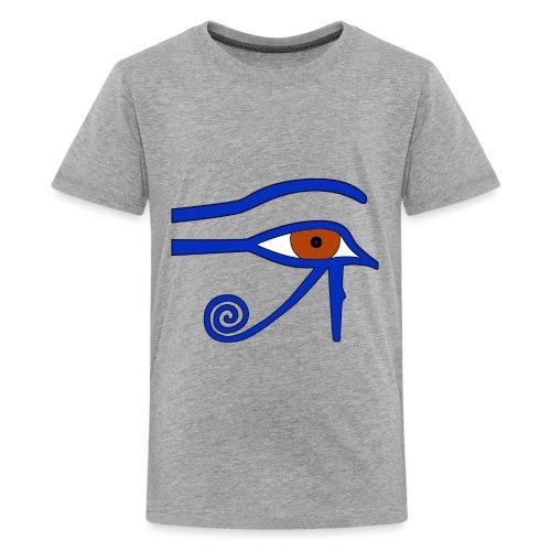 Ägyptisches Udjatauge - Teenager Premium T-Shirt