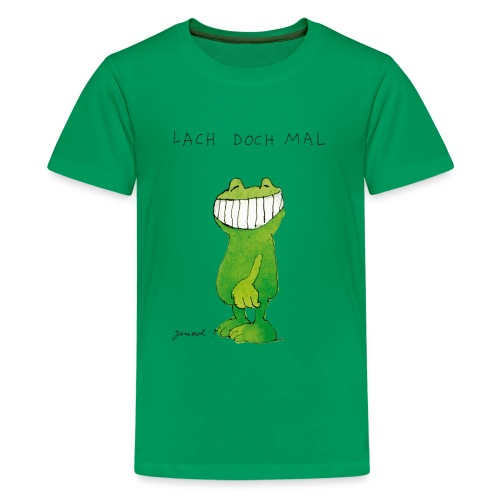 Janoschs Günter Kastenfrosch Just Smile - Teenager Premium T-Shirt