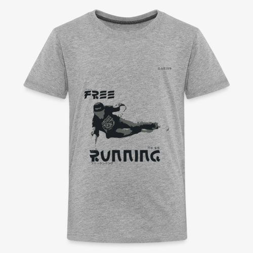 Freerunning Design - Teenager Premium T-Shirt