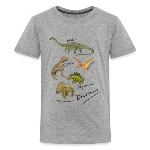 Dinosaurs - Teenage Premium T-Shirt