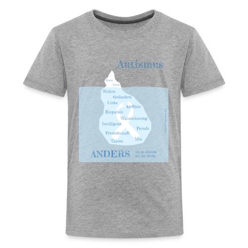 Autismus - anders als man denkt - Teenager Premium T-Shirt