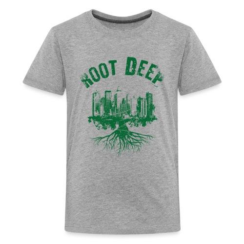 Root deep Urban grün - Teenager Premium T-Shirt