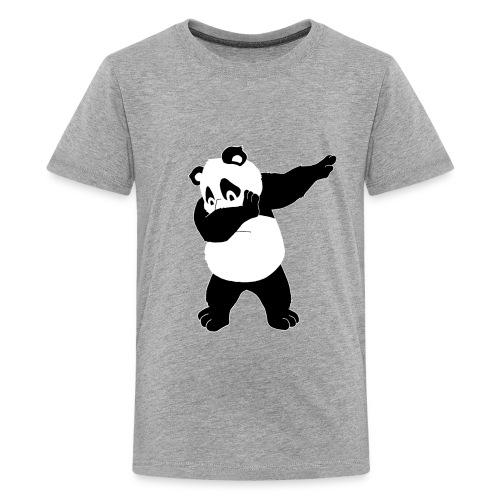Dabbing Panda Bär - Teenager Premium T-Shirt