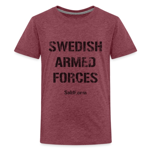 Swedish Armed Forces - Premium-T-shirt tonåring
