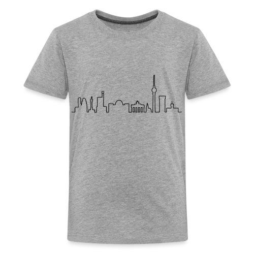 Skyline Berlin - Teenager Premium T-Shirt