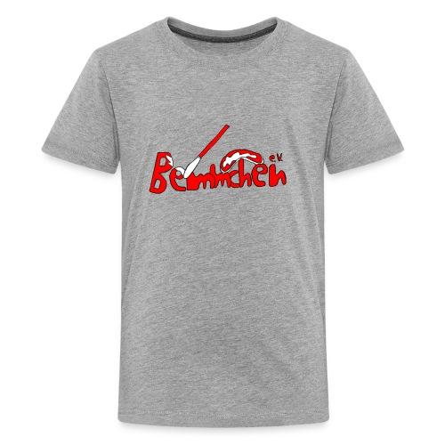 Bemmchen Logo rot - Teenager Premium T-Shirt