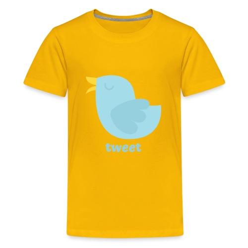 tweet - Teenager premium T-shirt