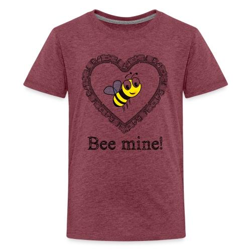 Bees3-2 save the bees | bee mine! - Teenage Premium T-Shirt