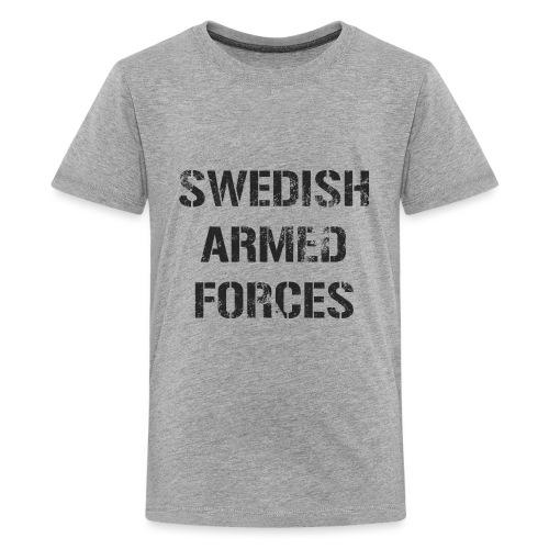 SWEDISH ARMED FORCES - Rugged - Premium-T-shirt tonåring