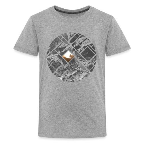 Felsklettern Bouldern Grafisches Design - Teenager Premium T-Shirt