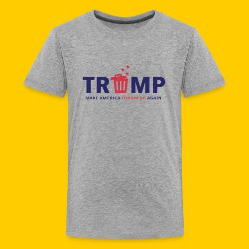 Trump trash - Premium-T-shirt tonåring