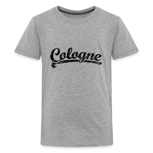 Cologne Classic Vintage Schwarz - Köln Design - Teenager Premium T-Shirt