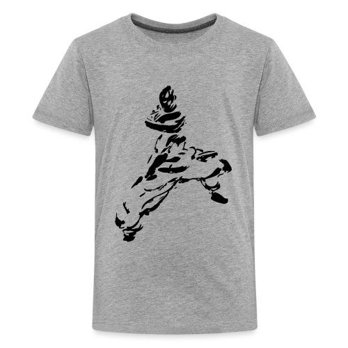 kungfu - Teenage Premium T-Shirt