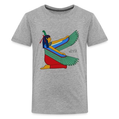 Maat - altägyptische Göttin - Teenager Premium T-Shirt