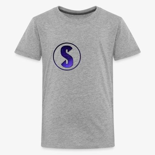 YouTube Logo von Salxphaa - Teenager Premium T-Shirt