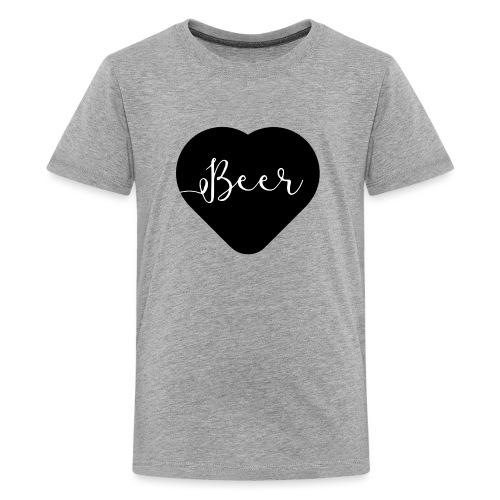 I love beer - T-shirt Premium Ado