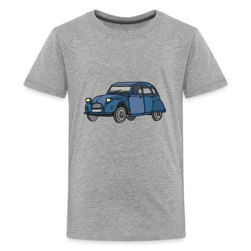 Blaue Ente 2CV - Teenager Premium T-Shirt