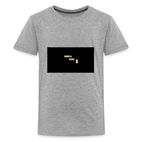 MONEY&KICKZ - Teenager Premium T-Shirt