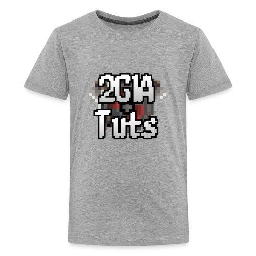 logo 4000 trans png - Teenager premium T-shirt